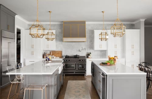 Interior Design by Angeline Guido Design seen at Private Residence, Parker - Kitchen