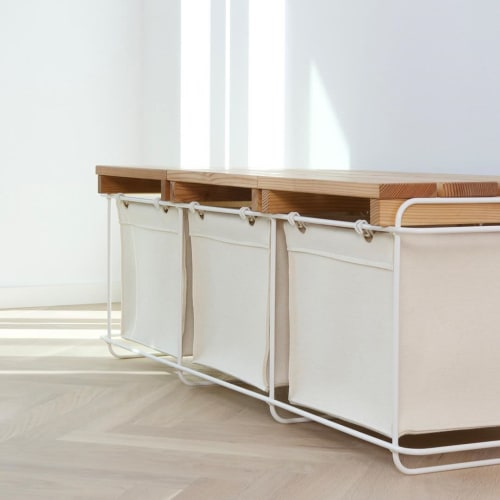 Furniture by bartmann berlin seen at Private Residence, Berlin - GRIT WHITE