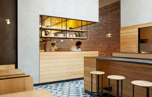 Interior Design by Studio Terpeluk seen at Liholiho Yacht Club, San Francisco - Interior Design
