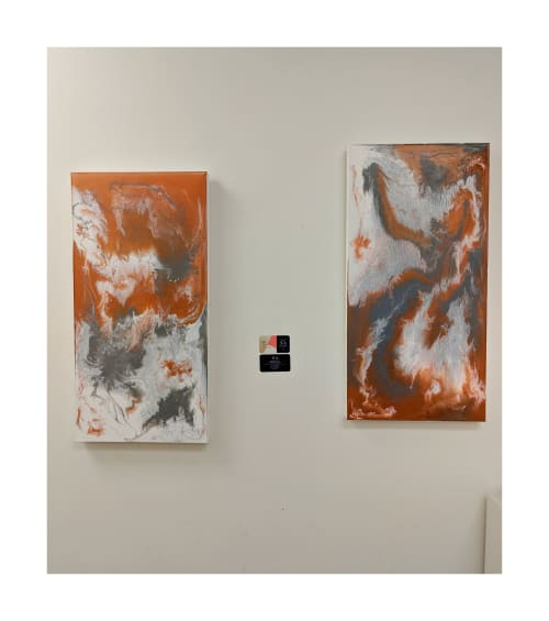 Paintings by Soulscape Art seen at Baylor Scott & White Imaging Center - Forney, Forney - Art on View