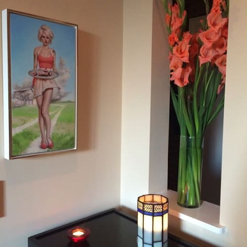Paintings by Melanie Vote seen at Private Residence, New York - Cupcakes