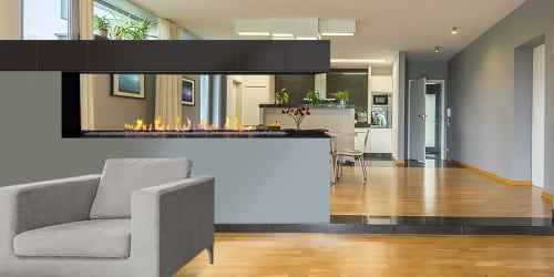 Fireplaces by European Home - H Series Peninsula