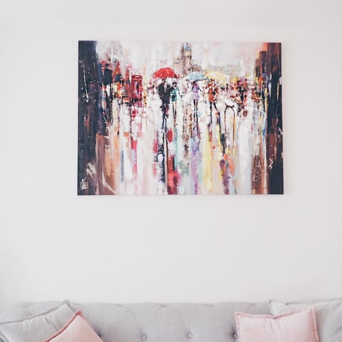 Paintings by Ewa Czarniecka Art seen at Private Residence - Abstract painting