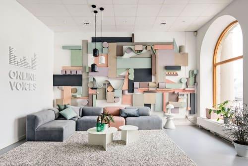 Interior Design by Hanna Tunemar seen at Online Voices, Kungsholmen - Interior Design