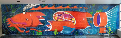 Deco Farkas - Murals and Art
