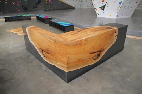 Benches & Ottomans by BURL MFG seen at Chambers Purely Boulders, Columbus - Chambers Purely Boulders Benches