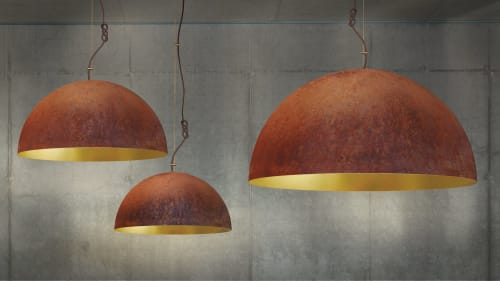 Pendants by Marie Burgos Design seen at d&d Building, New York - THE QUEEN PENDANT LIGHT