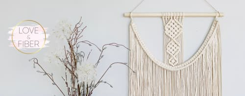 Love & Fiber - Macrame Wall Hanging and Art