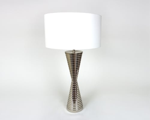 Lamps by Ron Dier Design seen at Town Studio, Scottsdale - Poirot Table Lamp