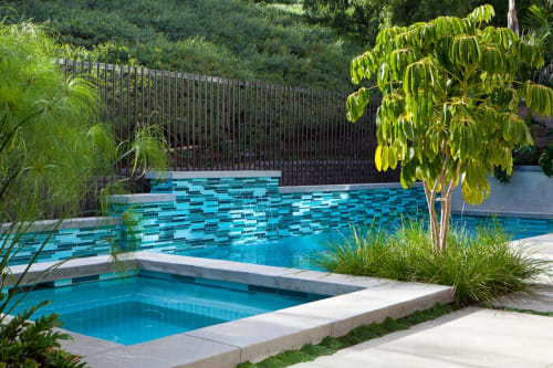 Architecture by Interstyle Ceramic & Glass Ltd seen at Private Residence, Laguna Hills - Laguna Hills Pool