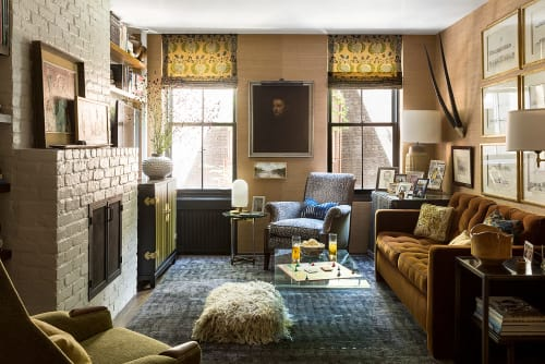 Interior Design by Fearins | Welch Interior Design seen at Private Residence, New York - West Village Roost