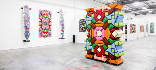 Santos Orellana - Murals and Art