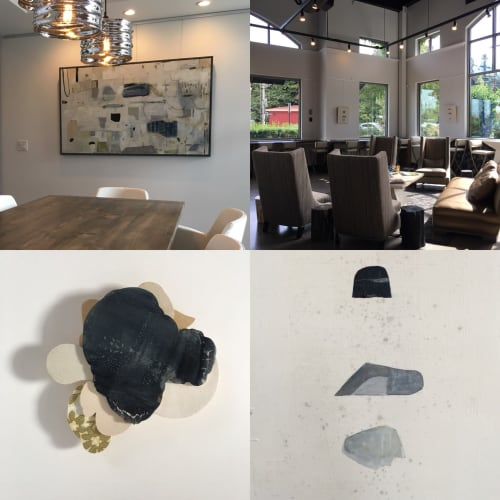 Paintings by MaryAnn Puls seen at Cascade Sotheby's International Realty, Lake Oswego - Solo exhibit - Accretion