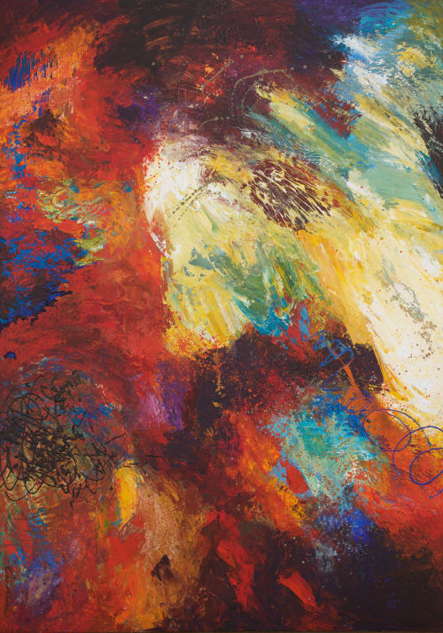 Abstract Original Painting | Paintings by Carolina Alotus
