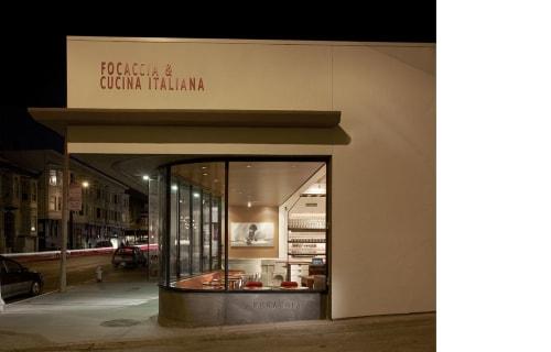 Farina Restaurant, Restaurants, Interior Design