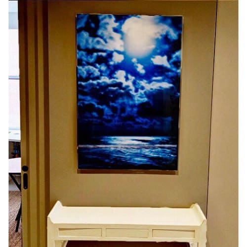 Photography by Artist Cheryl Maeder seen at Private Residence, New York - Blue Light Photograph