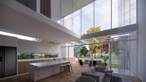 Architecture by Studio Hiyaku seen at Private Residence, Sylvania Waters - Sylvania Waters Duplex