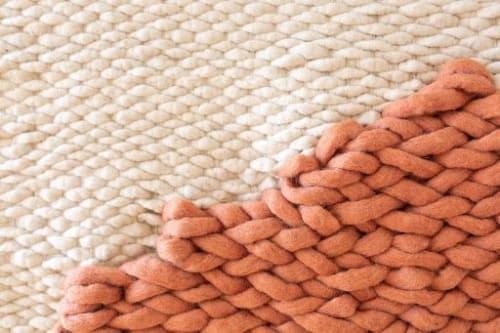 Pink Matter | Wall Hangings by Keyaiira | leather + fiber
