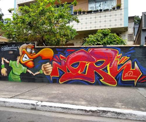 Street Murals by iori graffiti seen at Barreto, Barreto - Graffiti Mural
