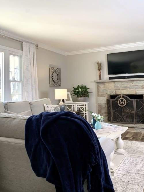 Curtains & Drapes by Pottery Barn seen at Private Residence, Bel Air, Bel Air - Curtains & Drapes