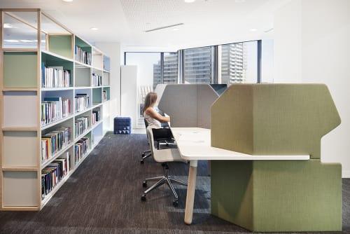 Furniture by Koskela seen at Hall & Wilcox, Melbourne - Koskela Hoodies