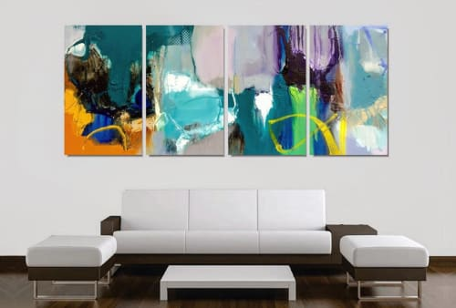 Paintings by Rob Forlani seen at Private Residence, Perth - 'Towards the Hemisphere'