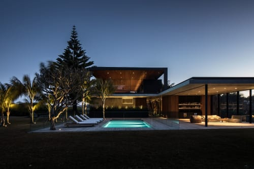 Lighting Design by Electrolight seen at Private Residence, Mollymook Beach - Sunrise House
