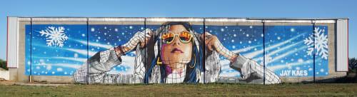 Street Murals by JAY KAES - Rosario's Grandaughter