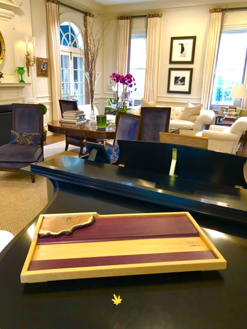 Tables by Leaf & Wood seen at Private Residence, Brooklyn - Robert Pettit