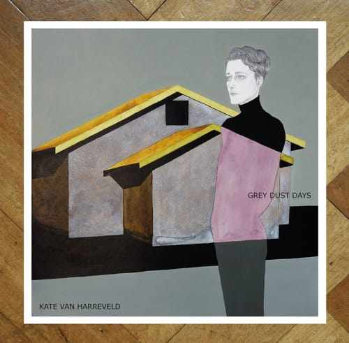 Paintings by Kate Van Harreveld seen at Haarlem, Haarlem - Book Grey Dust Days