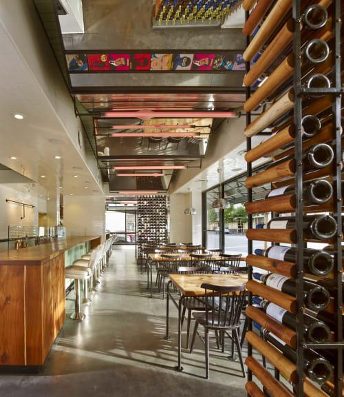 Interior Design by Kyle Minor Design seen at Farina Pizza, San Francisco - Farina Pizza San Francisco