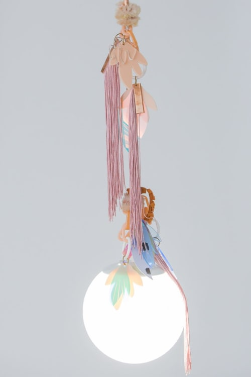 Pendants by Amy Boone-McCreesh seen at Baltimore, Baltimore - Mesmerism Pendant lights