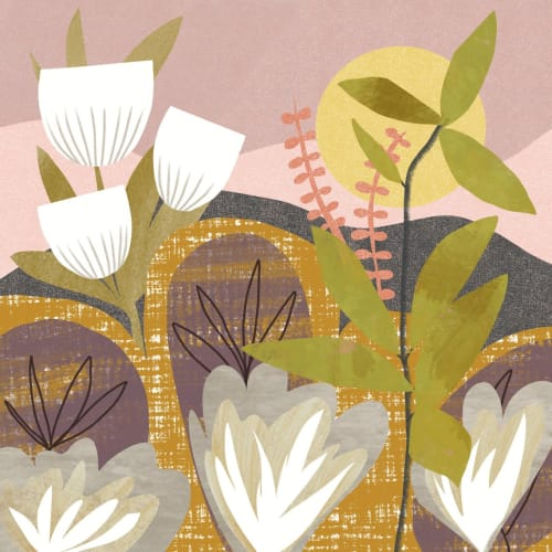 Paintings by Birdsong Prints - Tropical Botanical Art Print