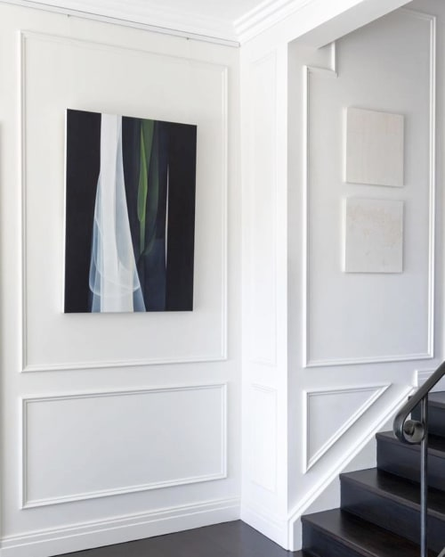 Paintings by Agneta Ekholm seen at Private Residence, Sydney - Confluence Green