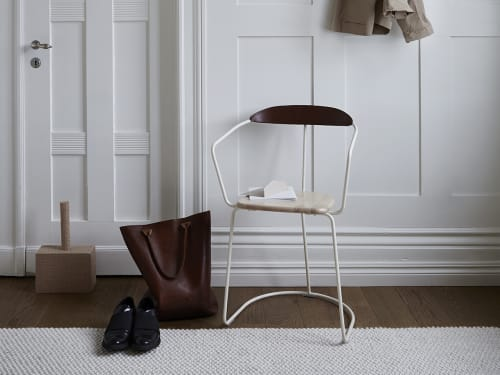 Chairs by Minus tio seen at Gothenburg Municipality - Ghost chair