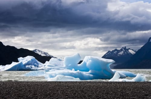 Patagonia Ice | Photography by Jolie Anna Goodson