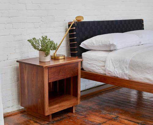 Beds & Accessories by Chilton Furniture Co. seen at Creator's Studio, Portland - Modern Shaker Bed