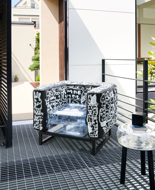 Chairs by MOJOW seen at Private Residence, Paris - Yomi NEP Armchair
