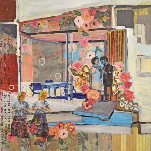 Marjolyn van der Hart - Paintings and Art Curation