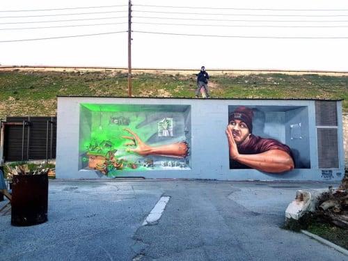 Braga Last1 - Street Murals and Murals