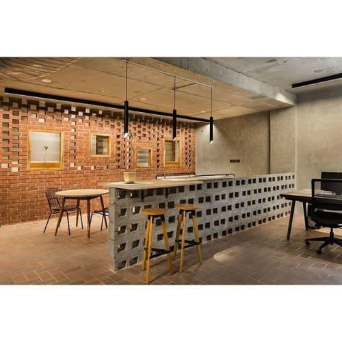 Interior Design by Studio Wood seen at Delhi, Delhi - Vizion Lighting / Office Design