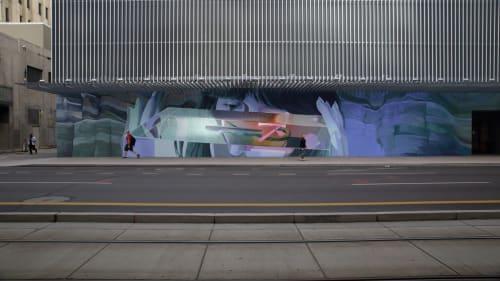 Murals by Clyde seen at Renaissance Phoenix Downtown Hotel, Phoenix - Timeless