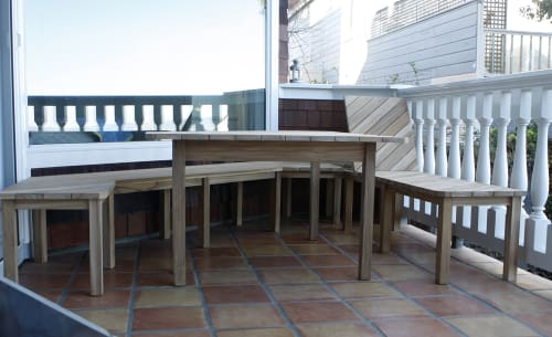 Furniture by Yvonne Mouser seen at Private Residence, San Francisco - Polygon Patio