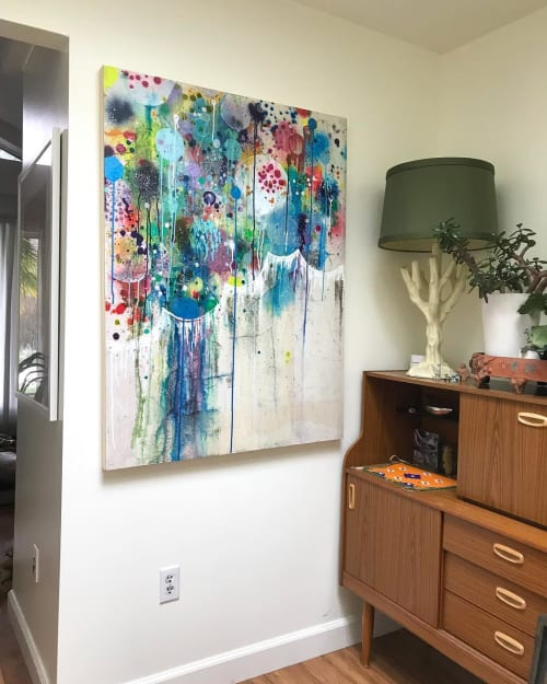 Paintings by Liz Tran seen at Private Residence, Seattle - Contemporay Art