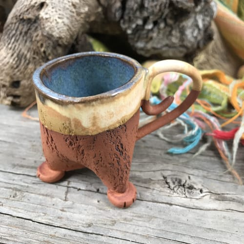 Cups by StudioGwyneth seen at Private Residence, Portland - Mini Monkey Mugs