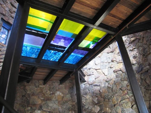 Art & Wall Decor by Walter Gordinier seen at Private Residence - Vail, CO, Vail - Cast bridge