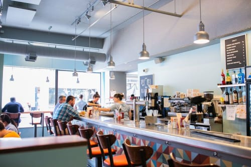 Interior Design by Kim Fox seen at Pie For Breakfast, Pittsburgh - Pie for Breakfast