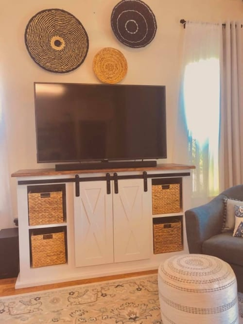 Furniture by Rivy's Woodworks seen at Private Residence, Honolulu - Entertainment centers