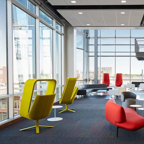 Chairs by Mike & Maaike at Ash Brokerage, Fort Wayne - Windowseat