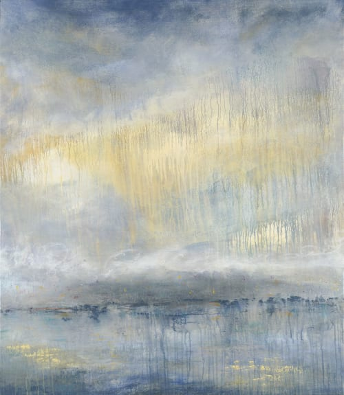 Interior Design by Rebecca Katz seen at San Mateo, San Mateo - Painting for Integrative Doctor in the San Francisco Bay Area